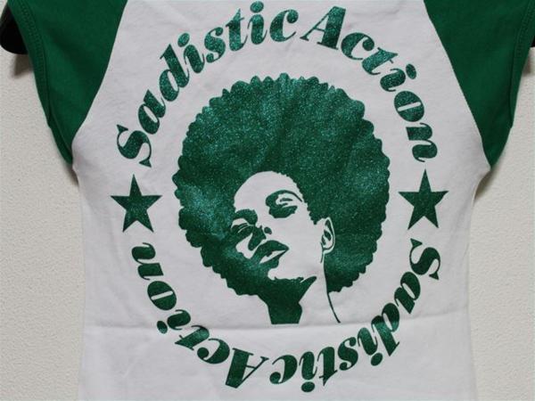 サディスティックアクション SADISTIC ACTION レディース半袖Tシャツ Sサイズ 新品_画像4