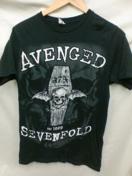 Avenged SevenfoldロックTシャツ☆USAメタルバンド良品M