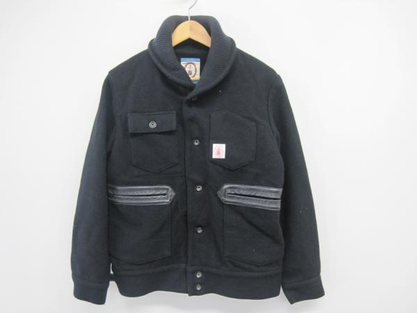 NEXUS7 ネクサスセブン ウール ジャケット 黒 サイズ46 *UF573