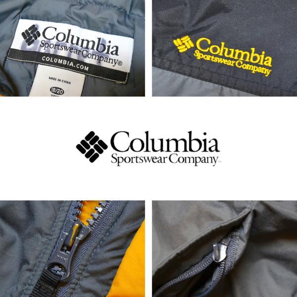 1点物◆コロンビアColumbiaナイロンジャケットMLグレー黒690778_画像2