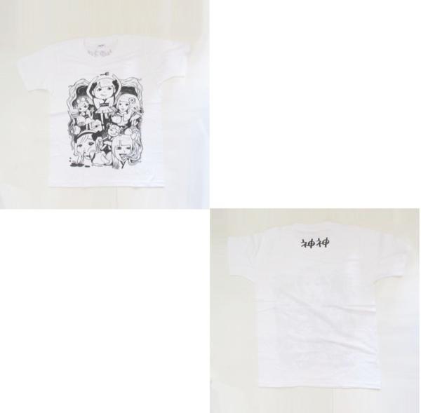 でんぱ組.inc オフィシャルグッズ でんぱの神神 神T 夢眠ねむ デザイン グッズ ライブグッズの画像