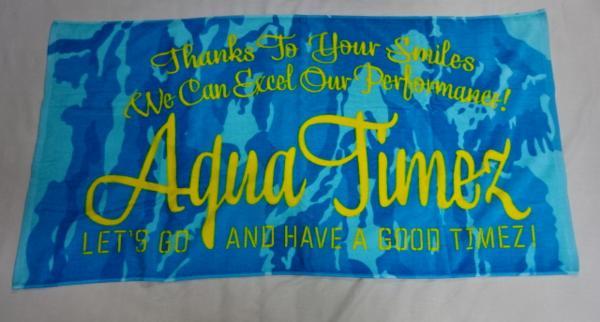 ★ Aqua Timez(アクア タイムズ) バスタオル GOOD TIMEZ