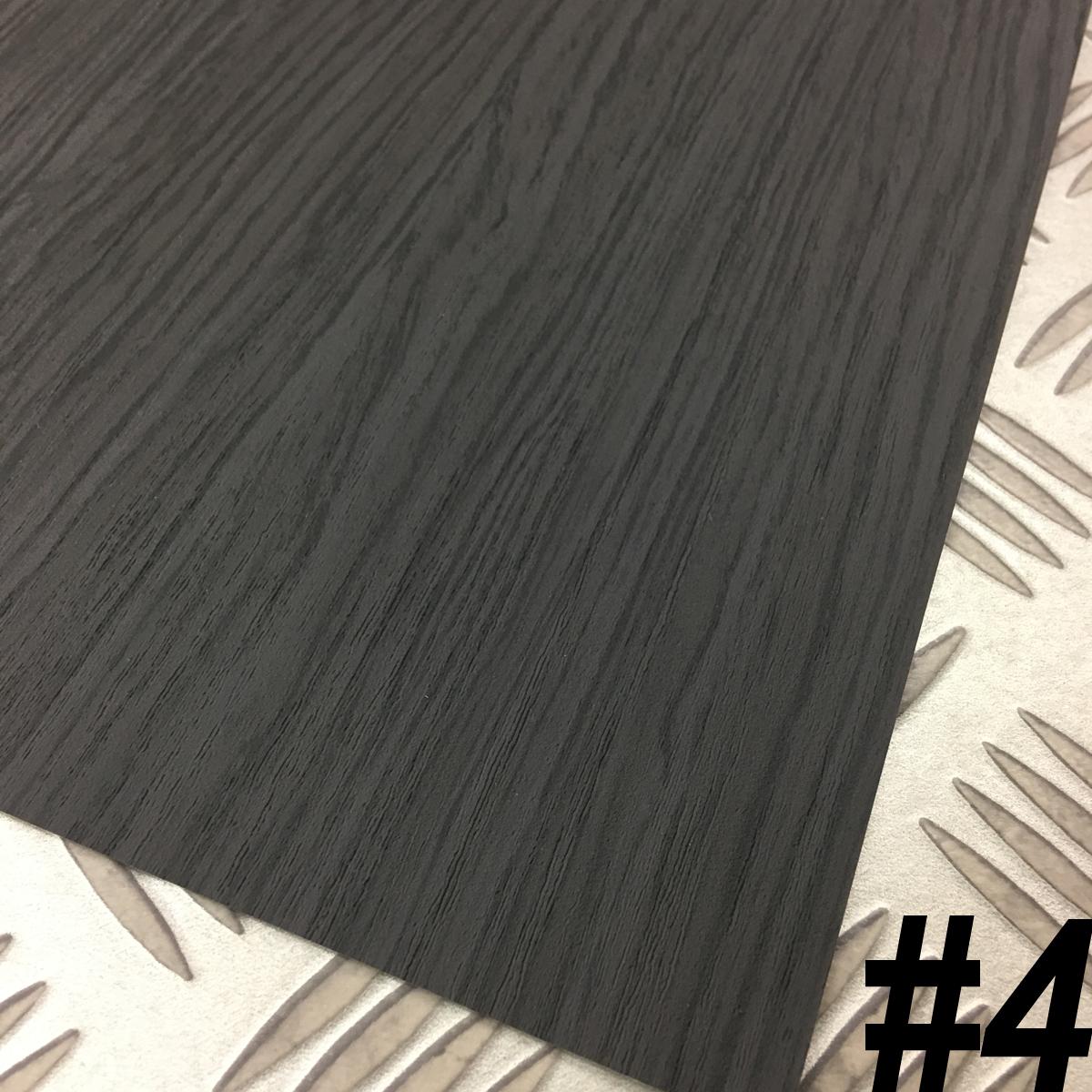 【黒部屋シリーズ】黒色壁紙クロス4種ブラックウォールペーパー_画像8