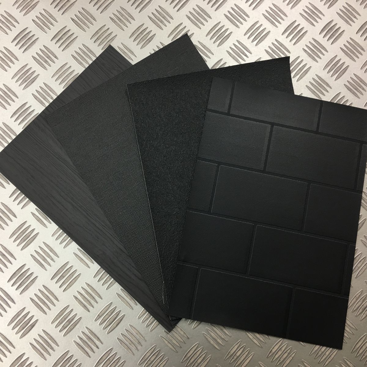 【黒部屋シリーズ】黒色壁紙クロス4種ブラックウォールペーパー_画像10