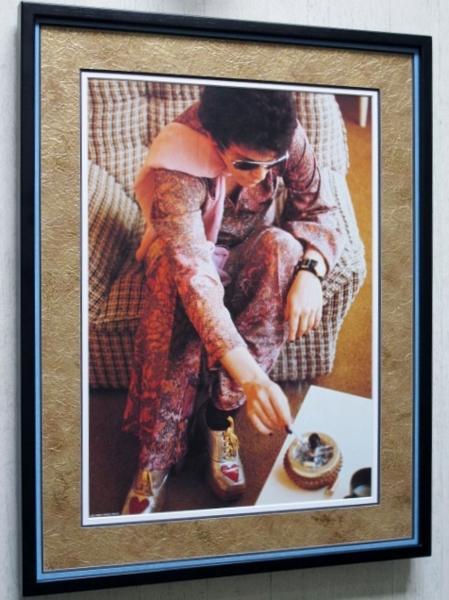 ルー・リード/1972/アートピクチャー額装品/Lou Reed/ヴェルヴェット・アンダーグラウンド/Velvet Underground/トランスフォーマー