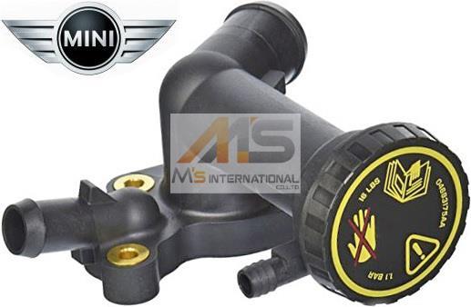 【M's】BMW ミニ R50 R52 RA16 純正品 サーモスタットハウジング_画像1