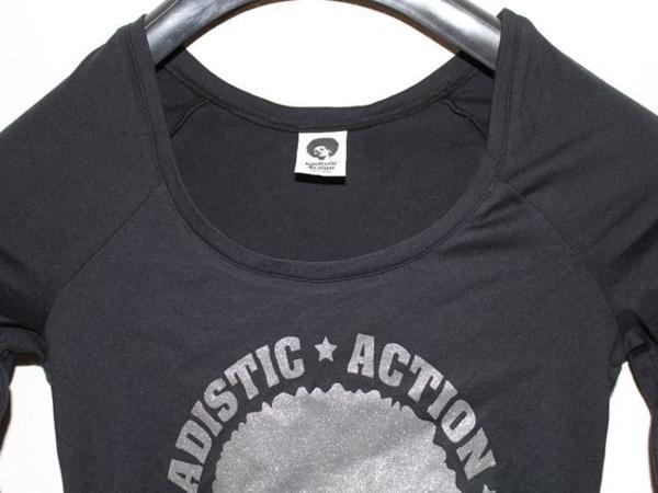 サディスティックアクション SADISTIC ACTION レディース チュニック Tシャツ NO19_画像2
