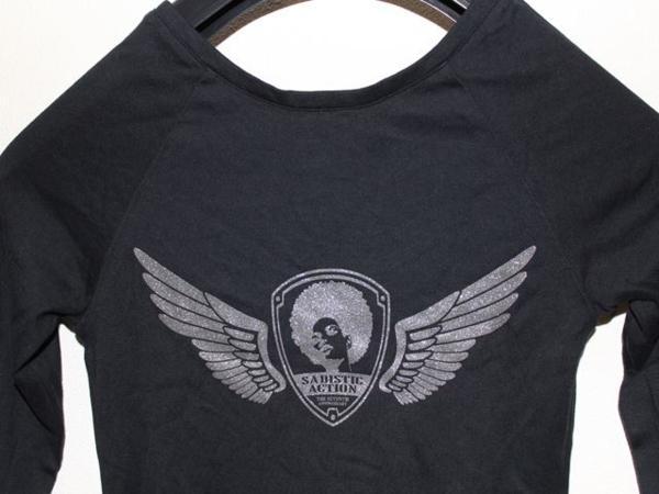 サディスティックアクション SADISTIC ACTION レディース チュニック Tシャツ NO19_画像6