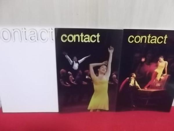 4IC 劇団四季「Contactコンタクト」パンフ3冊/'02・03・07