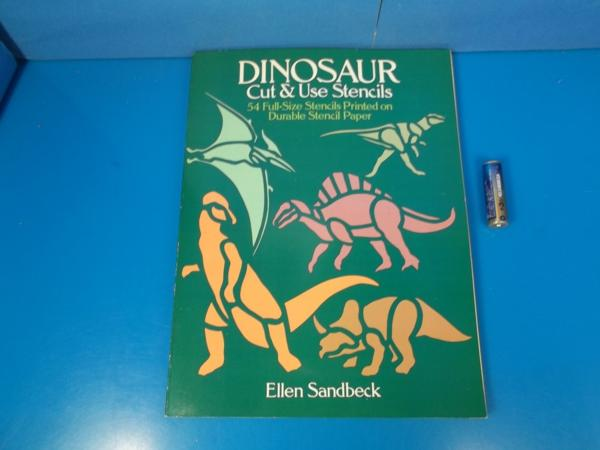 ■1989年 SDINOSAUR Cut&Use Stencils Ellen Sandbeck■_画像1
