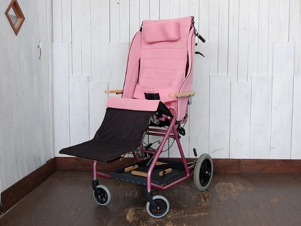 「きさく工房/リクライニング車椅子/前後機能付/介助式車椅子 (車椅子 介助用)」の画像