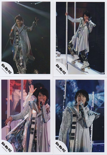 Kis-My-Ft2 キスマイ 二階堂高嗣 公式写真4枚セット●管fa-3163