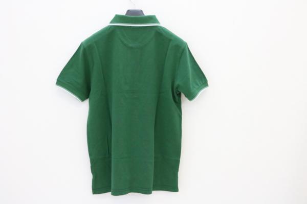 未使用 AUTOMOBILI LAMBORGHINI ランボルギーニ ポロシャツ グリーン S_画像3