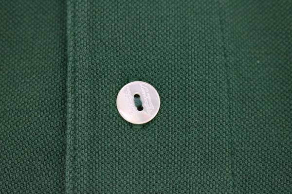 未使用 AUTOMOBILI LAMBORGHINI ランボルギーニ ポロシャツ グリーン S_画像8