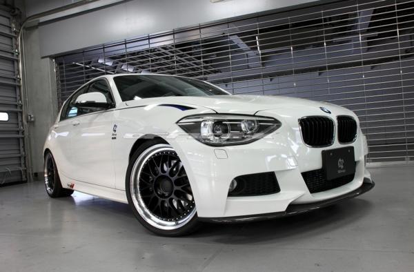 3D/デザイン/DESIGN/BMW/1シリーズ/F20/Mスポーツ用/カーボン/フロント/リップ/スポイラー/116i/118i/120i/M135i_画像2