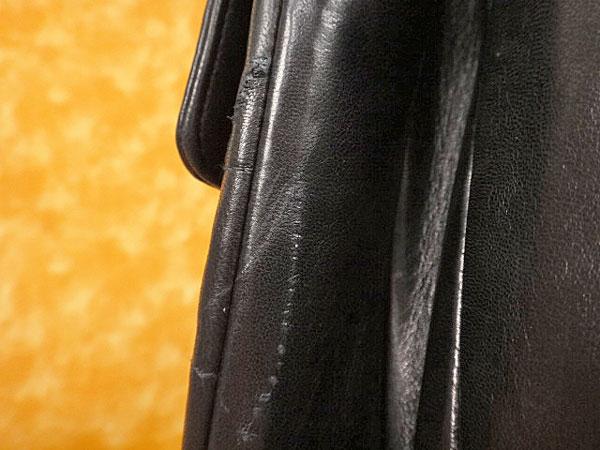 ★070137【シャネル】チョコバー ラムスキン 斜め掛け2WAYチェーンショルダーバッグ★黒★フラップタイプ★CHANEL_画像7