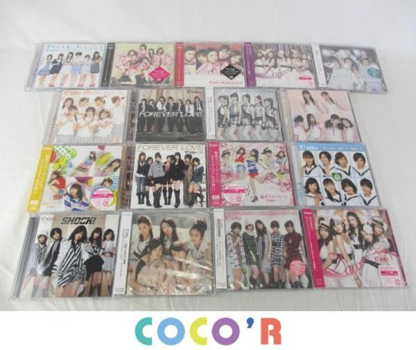 ハロプロ ℃-ute CD DVD 桃色スパークリング キャンパスライフ 等 未開封含む 17点グッズセット