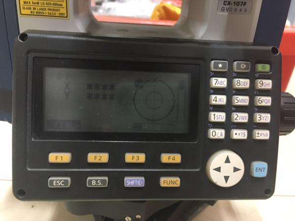 SOKKIA ソキア CX-107F ノンプリズムトータルステーション 中古_画像2