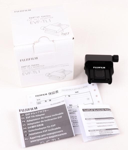 新品フジフィルムFUJIFILM EVF-TL1 EVFアダプター Tilt Adapter For GFX 50S
