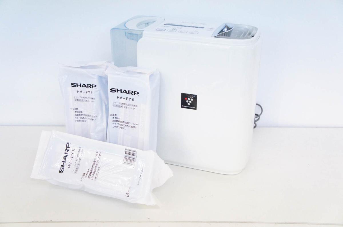 SHARP シャープ 加熱気化式加湿機 HV-Y50CX 未使用フィルター付き_画像1
