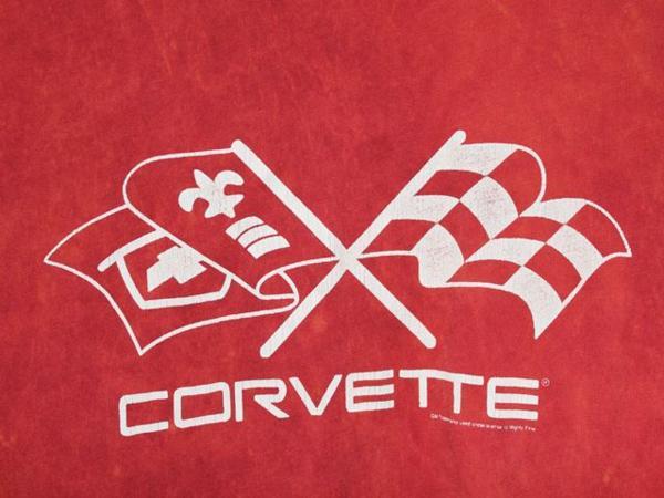 DOE corvette レディース半袖Tシャツ レッド Mサイズ 新品_画像3