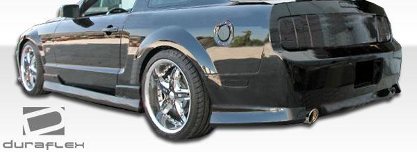 2005-2009 フォード マスタング☆DF Stallion エアロ5点セット_画像2