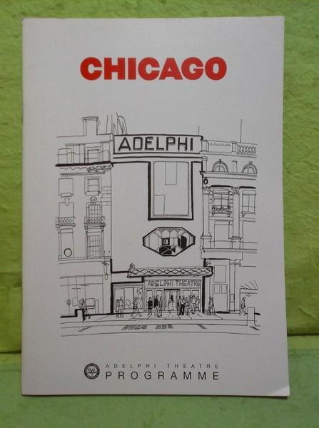 C-パンフ シカゴ アデルフィ劇場