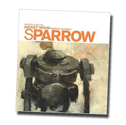 洋書 『メタルギア』 スパロウ0 アシュレイ・ウッド作品集/Sparrow Volume 0: Ashley Wood Sketches and Ideas (輸入品)_画像1