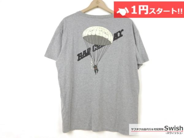 A501●ジョジョの奇妙な冒険 第4部 × ultra BRAND ●虹村形兆 BAD COMPANY ARMY Tシャツ L 灰●_画像5