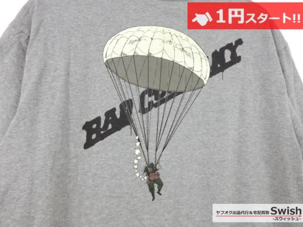 A501●ジョジョの奇妙な冒険 第4部 × ultra BRAND ●虹村形兆 BAD COMPANY ARMY Tシャツ L 灰●_画像6