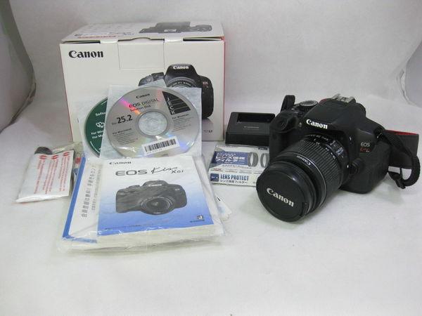 【美品1円】Canon キャノン 一眼レフカメラ本体 EOS Kiss X6i DS126371 レンズ Canon ZOOM LENS EF-S 18-55mm IS ⅱ レンズキット