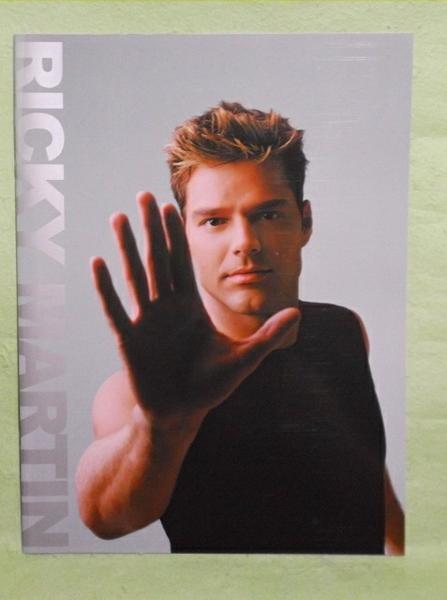 A-1【パンフ】リッキー・マーティン 2000年