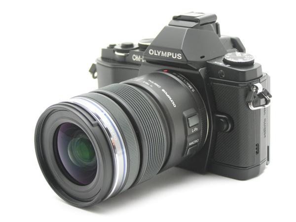 ★ハロ-カメラ★5703 OLYMPUS OM-D E-M5 ブラック黒 (M ZUIKO DIGITAL 12-50mm F3.5-6.3) 説付 動作品_画像3