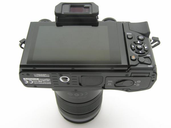 ★ハロ-カメラ★5703 OLYMPUS OM-D E-M5 ブラック黒 (M ZUIKO DIGITAL 12-50mm F3.5-6.3) 説付 動作品_画像5