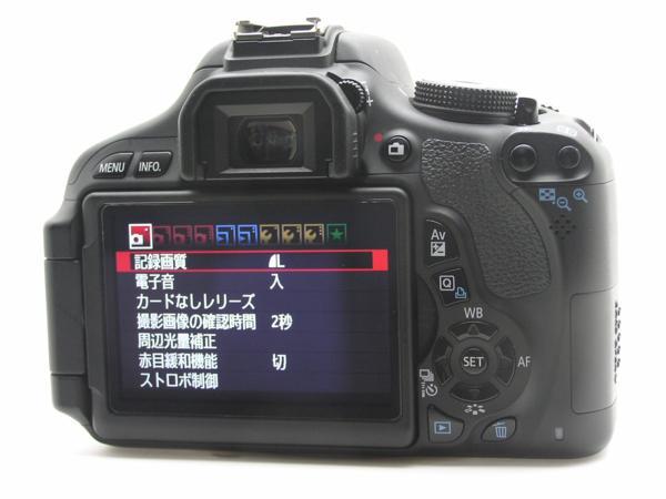 ★ハロ-カメラ★5835 Canon EOS Kiss X5 Body 1800万画素(有効画素) 箱説付 動作品_画像4