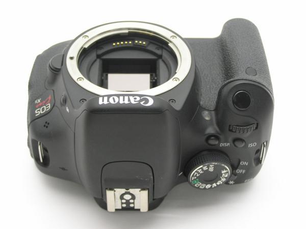 ★ハロ-カメラ★5835 Canon EOS Kiss X5 Body 1800万画素(有効画素) 箱説付 動作品_画像6
