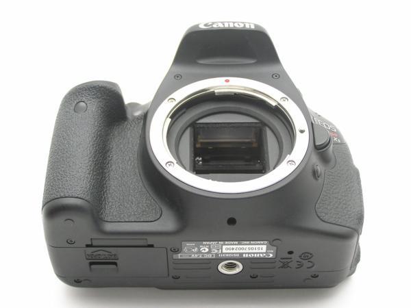 ★ハロ-カメラ★5835 Canon EOS Kiss X5 Body 1800万画素(有効画素) 箱説付 動作品_画像7