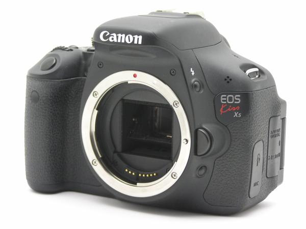 ★ハロ-カメラ★5835 Canon EOS Kiss X5 Body 1800万画素(有効画素) 箱説付 動作品_画像3