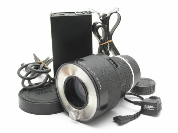 ★ハロ-カメラ★5851 Nikon Medical-NIKKOR 120mm メディカル二ッコール ( M = 1/11) F4 (No.186919) DC UNIT LD-2付 難有 動作品