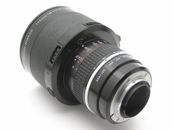 ★ハロ-カメラ★5851 Nikon Medical-NIKKOR 120mm メディカル二ッコール ( M = 1/11) F4 (No.186919) DC UNIT LD-2付 難有 動作品 _画像8