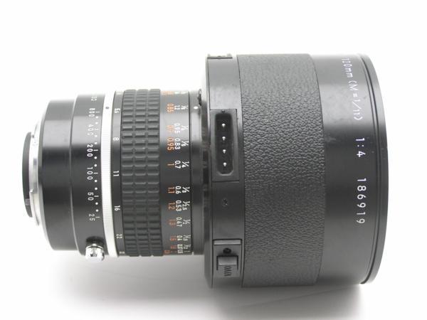 ★ハロ-カメラ★5851 Nikon Medical-NIKKOR 120mm メディカル二ッコール ( M = 1/11) F4 (No.186919) DC UNIT LD-2付 難有 動作品 _画像5