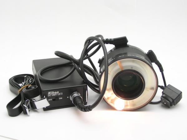 ★ハロ-カメラ★5851 Nikon Medical-NIKKOR 120mm メディカル二ッコール ( M = 1/11) F4 (No.186919) DC UNIT LD-2付 難有 動作品 _画像2