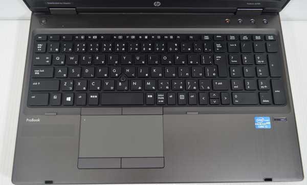 04M8HP ProBook 6570b Core i5 3210M 4GB 320GB Windows 7 Professional 64bit 高解像度液晶 HD+ 1600x900 WiFi 無線LAN webカメラ 内臓_画像2