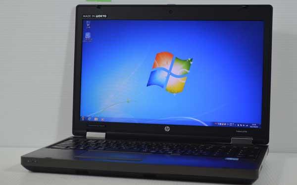 04M8HP ProBook 6570b Core i5 3210M 4GB 320GB Windows 7 Professional 64bit 高解像度液晶 HD+ 1600x900 WiFi 無線LAN webカメラ 内臓_画像1