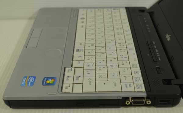31R7 富士通 LIFEBOOK P771/D Core i5 2520M 2.50GHz 2GB SSD 128GB windows 7 Professional 64bit WiFi DtoDリカバリ ディスク作成可能_画像6
