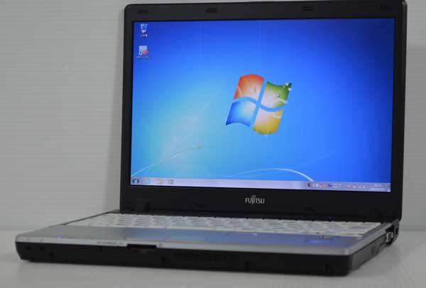 31R7 富士通 LIFEBOOK P771/D Core i5 2520M 2.50GHz 2GB SSD 128GB windows 7 Professional 64bit WiFi DtoDリカバリ ディスク作成可能