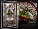◆ST247◆新品◆豪華◆エレガント◆壁掛け/ステンドグラスアート