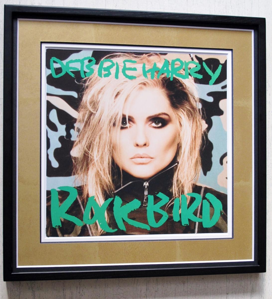 デボラ・ハリー/ブロンディ/名盤レコジャケ額入り/Deborah Harry/Rockbird/ウォーホル額入り/Warhol/Blondie/Framed Deborah Harry