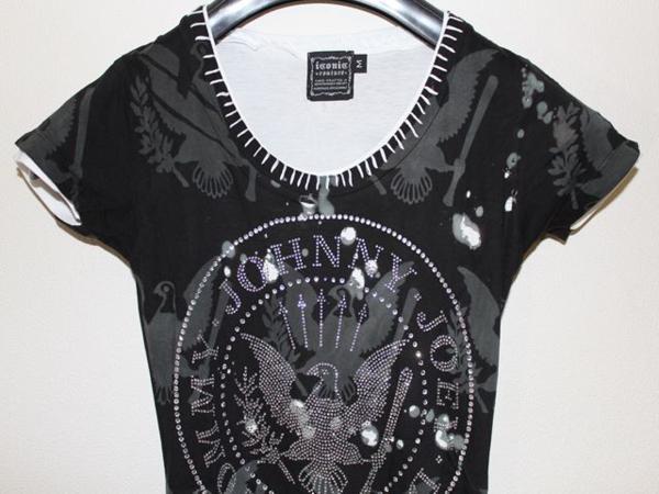 サディスティックアクション SADISTIC ACTION アイコニック ICONIC レディース半袖Tシャツ Sサイズ 新品_画像2