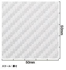 【3Mスリーエム】ダイノックシート カーボン【CA418シルバー】_画像3